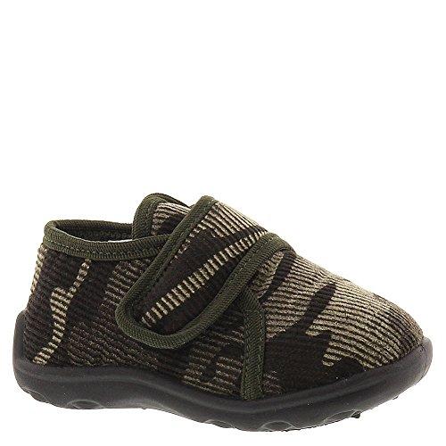 Ragg Levi Boys' Infant-Toddler-Youth Slipper 5 M Us Toddler Khaki-Camouflage-Corduroy front-766893