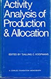 img - for Activity analysis of production and allocation book / textbook / text book