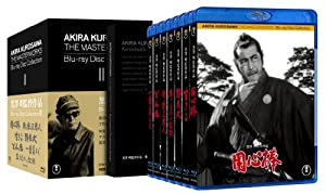 黒澤明監督作品 AKIRA KUROSAWA THE MASTERWORKS Bru-ray Disc Collection II (7枚組) [Blu-ray]