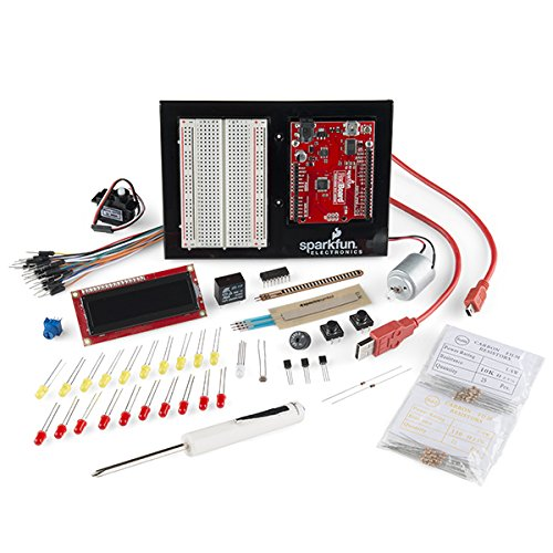 Sparkfun Inventor'S Kit For Arduino - V3.1 With White Breadboard And Small Screwdriver
