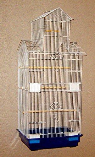 Vogelkäfig von Lea-Pet 1708 weiß
