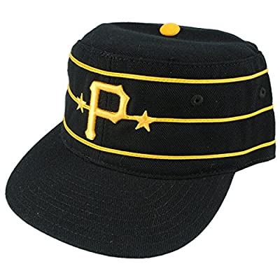 Pittsburgh Pirates MLB 1977 Vintage Baker Cooperstown Fitted Cap