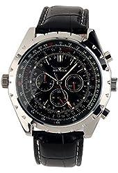 Brand ESS Luxury Gents Men Black Aviator Automatic Mechanical Watch WM143?