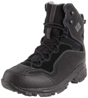 Columbia Sportswear Men's Liftop Snow Boot,Black/Dark Shadow,7 M US