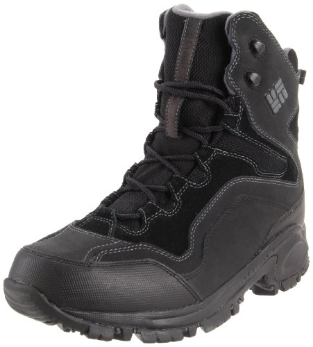 Columbia  LIFTOP,  Stivali da neve uomo, Nero (Schwarz (Black, Dark Shadow 010)), 42