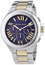 MK5758 Ladies Stainless Steel/Gold Plated 'Camille' Michael Kors Watch