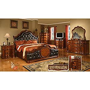 Coronado bedroom set king bedroom furniture for Bedroom furniture amazon