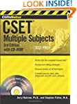 CliffsNotes CSET, with CD-ROM: Multip...