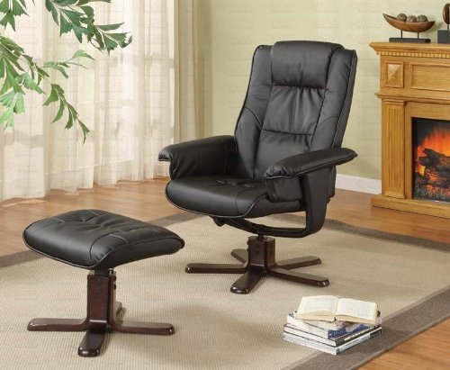 Glider Chair With Ottoman: Buy Cheap Swivel Glider Rocker Chair With Ottoman In Black