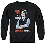 Criminal Minds FBI Drama Series Spencer Trust Me I'm A Dr. Adult Crew Sweatshirt