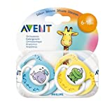Avent Soother Fashion 6-18m 2 per pack