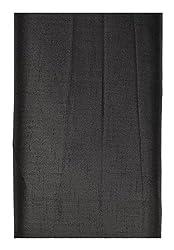 Shree Balaji Textiles Men's Poly Cotton Trousers Fabric (Black)