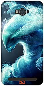 The Racoon Grip Morphling hard plastic printed back case / cover for Asus Zenfone Max ZC550KL