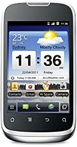 Huawei Sonic U8650 Smartphone (8,8 cm (3,5 Zoll) Display, 3,2 Megapixel Kamera, 512 MB Interner Speicher, Android 2.3) schwarz