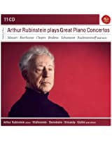 Arthur Rubinstein Plays Great Piano Concertos (Sony Classical Masters)