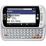 NEW NIB LG LN272 Rumor Reflex WHITE Sprint Slider Qwerty Bluetooth Cell Phone