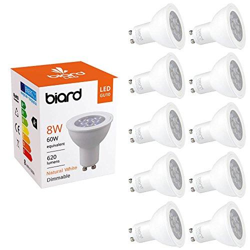 biard-pack-x-10-faretti-lampadine-gu10-spot-led-8w-dimmerabile-in-bianco-naturale-equivalente-a-60w-
