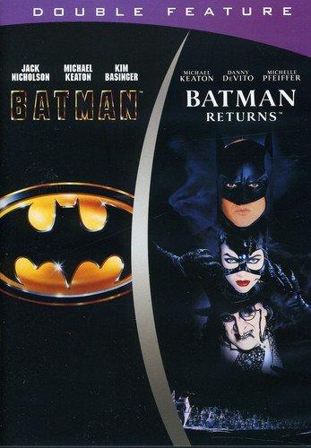 DVD : Batman / Batman Returns (, Dubbed, Eco Amaray Case, Widescreen)