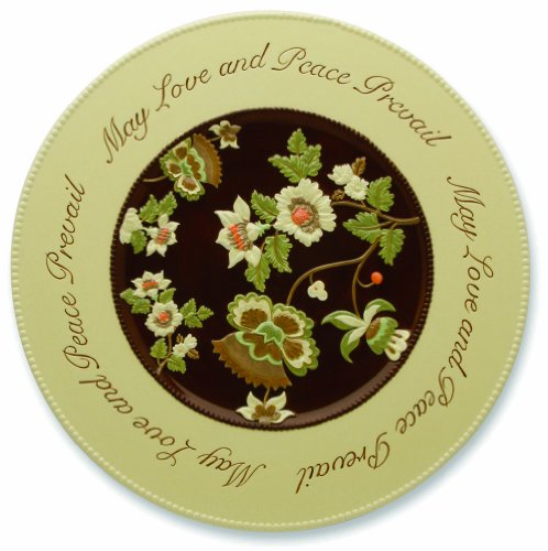 Shared Blessings Love And Peace 15-Inch Diameter Platter