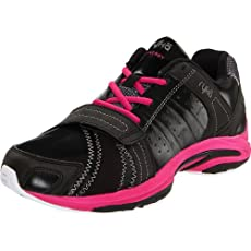 RYKA Women's Synergy Shoe,Black/Dark Pink/White,9.5 M US