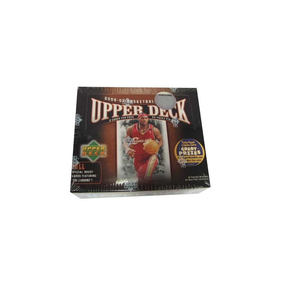 2006/7 Upper Deck SP Signature NBA (Each tin contains 3