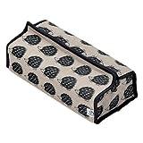(テンテ) tente HS322302 ティッシュ ボックス カバー ケース ファブリック 雑貨 インテリア (ハリネズミ)