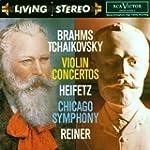 Brahms : Concerto pour Violon / Tcha�...