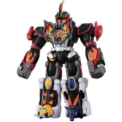 Power Rangers Jungle Fury Deluxe Battery-Operated Megazords - Jungle Master Megazord