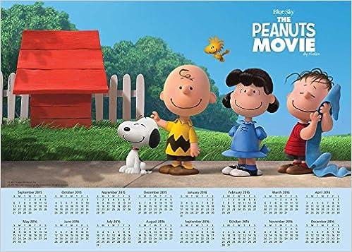 Monthly Calendar Book 16-month Calendar Poster