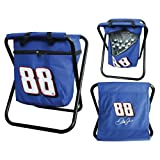 Dale Earnhardt Jr Cooler Chair Seat Official Nascar Driver Ice Chest Quad Chair by Cleanlapsports
