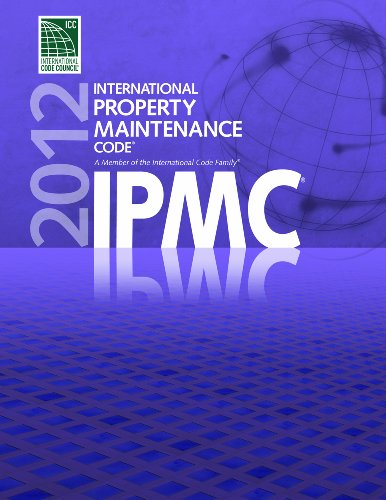 2012 International Property Maintenance Code - Soft-cover - ICC (distributed by Cengage Learning) - 3500S12 - ISBN: 1609830563 - ISBN-13: 9781609830564