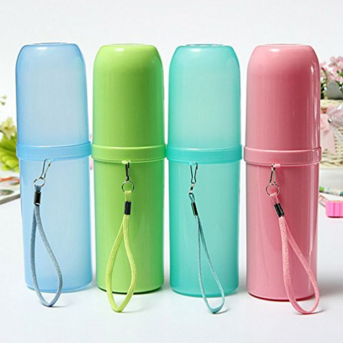 Portable Utility Outdoor Travel Toothbrush Storage Box Holder Tooth Mug Toothpaste Towel Cup Organizer