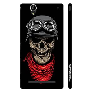 Sony Xperia T3 Skull 3 designer mobile hard shell case by Enthopia