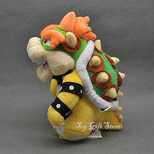 "New Super Mario Bros. Plush Doll Figure Bowser 6.5"""