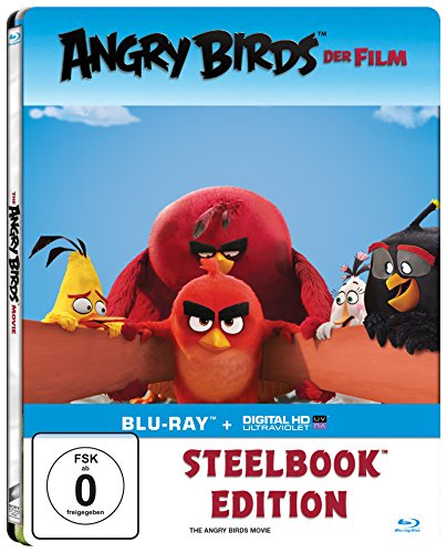 Angry Birds - Der Film - Steelbook [Blu-ray]