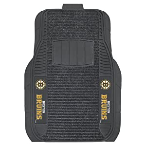 FANMATS NHL Boston Bruins Nylon Face Deluxe Car Mat by Fanmats