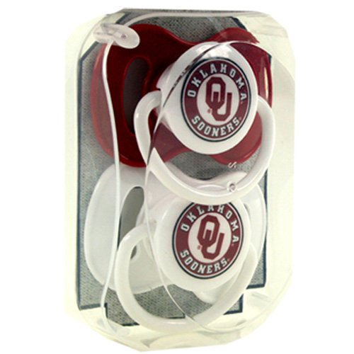 NCAA Oklahoma Sooners Infant Pacifier - 1