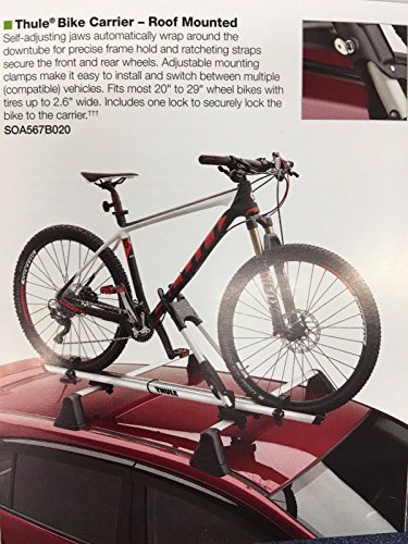 Subaru Forester Imperza Outback WRX 2008-2017 Roof Bike Rack OEM NEW Thule Genuine (Subaru Crosstrek Thule compare prices)