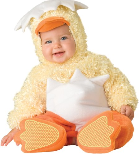Incharacter Unisex-Baby Infant Chickie Costume, Yellow/Orange/White, Medium front-990760