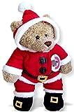 Construya su Bears Armario 15-Inch Ropa para construir un oso Papá Noel Onesie disfraz