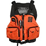 NRS Chinook Mesh Back Fishing PFD Orange L/XL