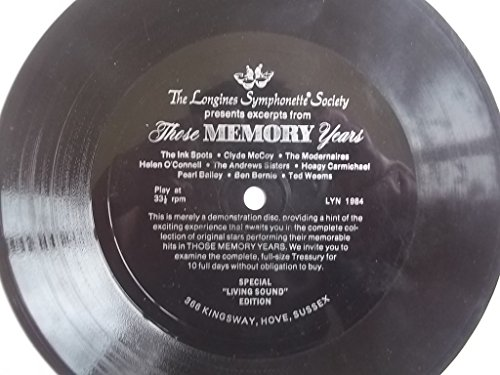 various-longines-symphonette-society-these-memory-years-7-flexi-disc