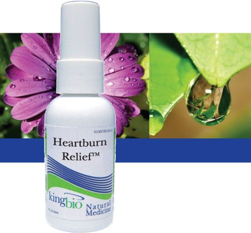 King Bio Heartburn Relief 2 Oz