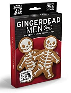 GingerDead Man Cookie Cutter Stamper