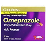 Good Sense Omeprazole Delayed Release, Acid Reducer Tablets 20 mg, 42 Count
