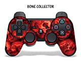 Buy Protective Skin for Playstation 3 Remote Controller – Bone Collector Red