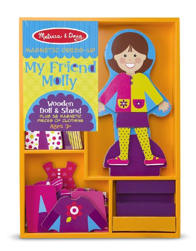 Melissa & Doug My Friend Molly - Magnetic Dress Up