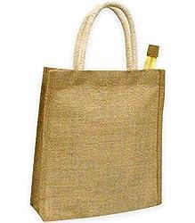 INDHA CRAFT Women's Handbag (Beige) (PJTB550)