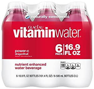vitaminwater power-c, 6 ct, 16.9 FL OZ Bottle
