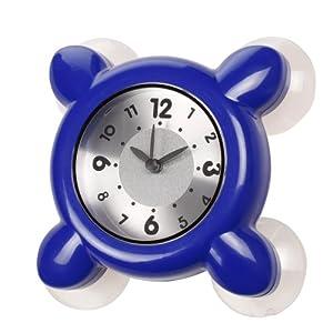 Montre Etanche Horloge Dans La Salle De Bains Et La Douche Cuisine Bleu 4 Ventouses